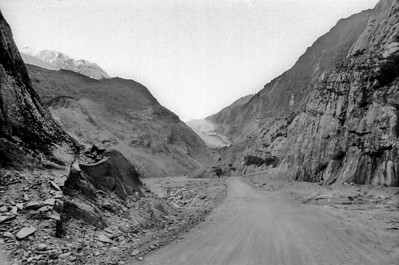Road to Franz Josef glacier Franz Josef West Coast New Zealand - 197X