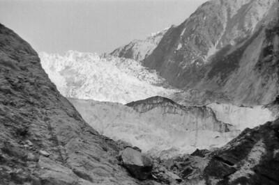 On the Franz Josef glacier Franz Josef West Coast New Zealand - 197X