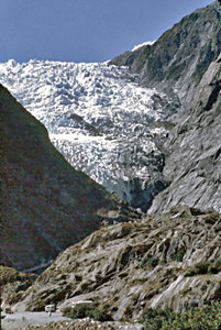 Franz Josej glacier New Zealand - Jan 1987