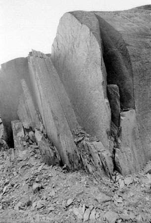 Rock face Franz Josef West Coast New Zealand - 197X
