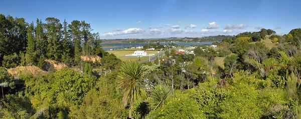 Whangateau from Christine Chauca's balcony Whangateau New Zealand - Apr 2005