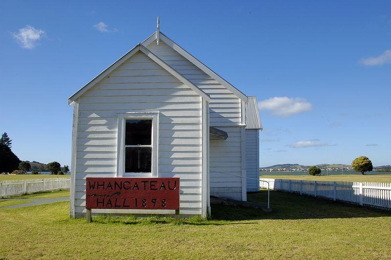 The hall Whangateau New Zealand - Apr 2005