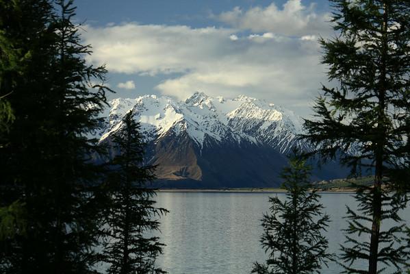 New Zealand's Lake Ohau and Glen Mary