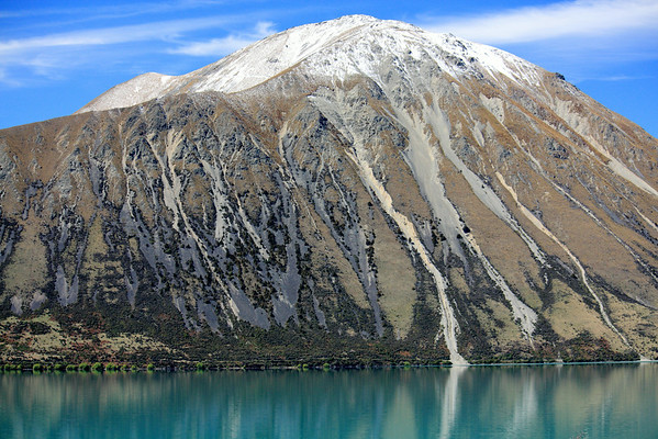 Ben Ohau in the Southern Alps of New Zealand
