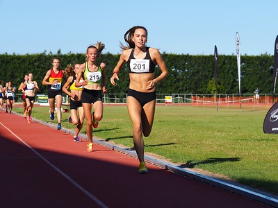 Amelia Mazza-Downie 3000m 2016 (Australia)