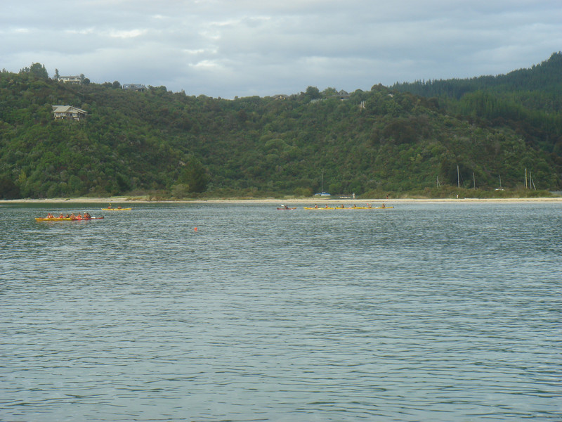 Sea Kayakers near Marahau