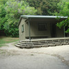 One of the huts to camp in at Anchorage