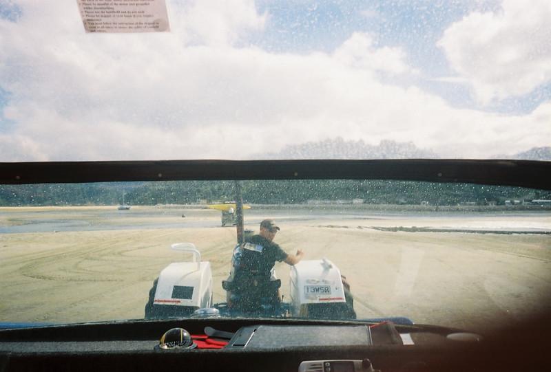 New Zealand hay ride.