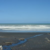 """The beach (or """"bich"""" in local speak) at New Plymouth (just below the wedding site)."""