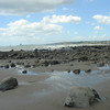 Beach at New Plymouth, just below the wedding site.
