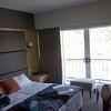 hotel room in Rotorua.