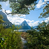 DSC_2594 View of Mitre Peak (1692') from the sunlight bush in Milford Sound, Fiordland National Park *