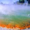 11011-27602  Waiotapu geothermal scenery. Steam over Champagne Pool *