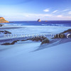 11011-80021  Otago Peninsula scenery. Evening at Sandfly Bay