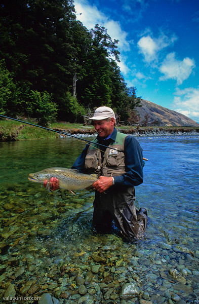 """my first 10 pound trout. a mouse eater at 24"""" long by 16"""" girth- fat."""