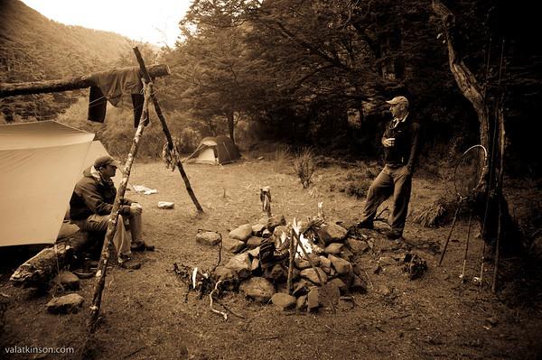 NZ wilderness campout #5