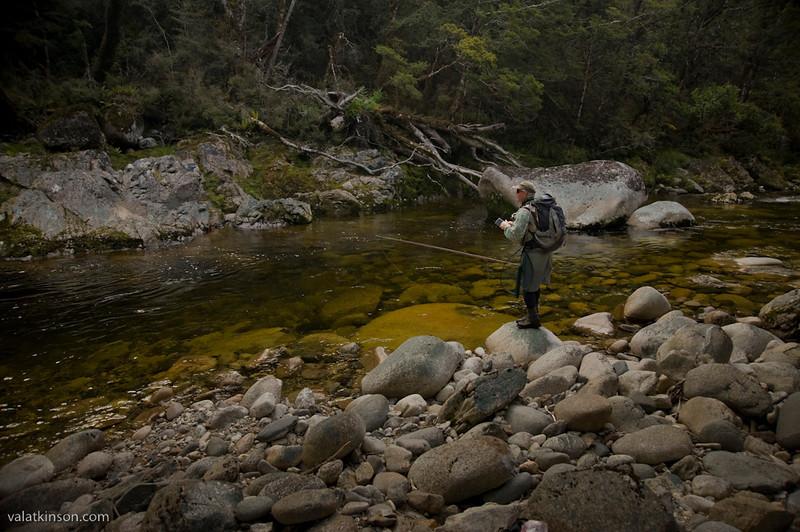 scott murray on nz wilderness headwater stream #2