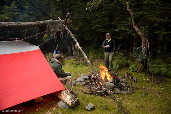 NZ wilderness campout #4