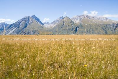 Aoraki-Mount Cook, South Island, New Zealand.