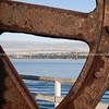 Dredge wheel in Auckland waterfront.