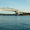 Auckland Harbour Bridge.