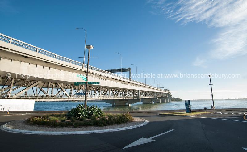 Auckland Harbour Bridge.