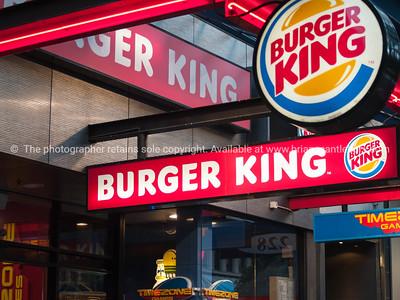 Burger King, Queen Street Auckland.