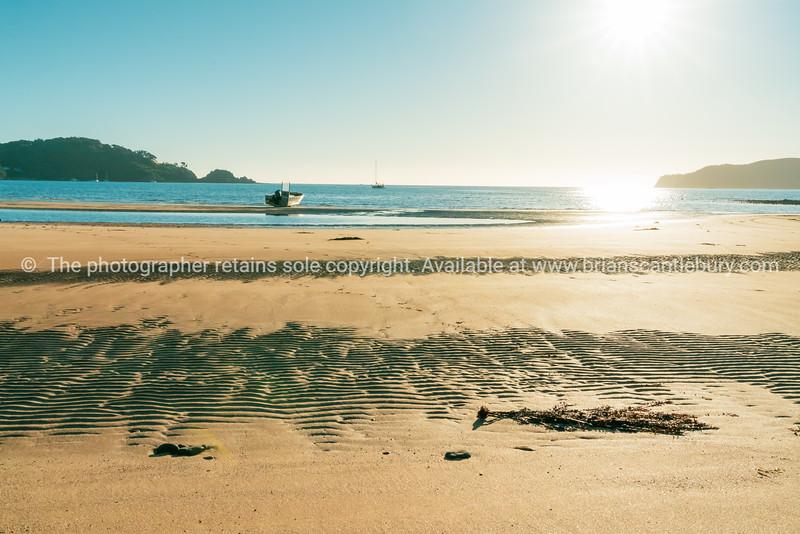 Mulberry Grove Beach as sunrises.