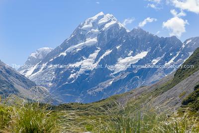 Great New Zealand Walks, boardwalk on the Aoraki-Mount Cook National Park's Hooker Track.