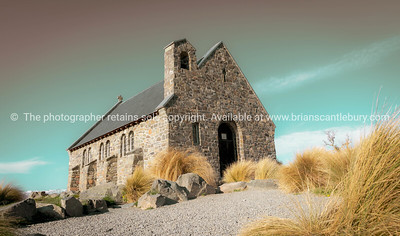 Canterbury, Mackenzie Basin, South Island New Zealand.