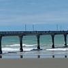Long New Brighton Pier Christchurch.