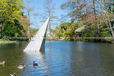 Public art in Christchurch Botanical Garden