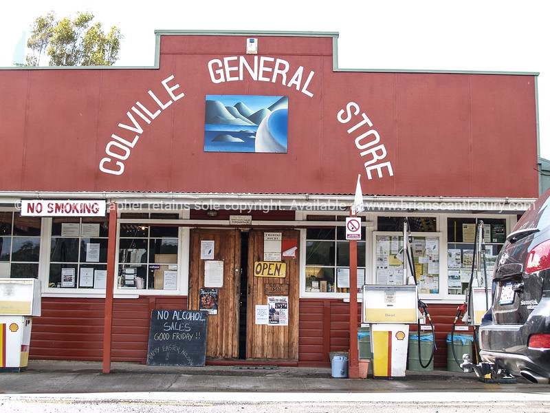 Colville General store. New Zealand Images.