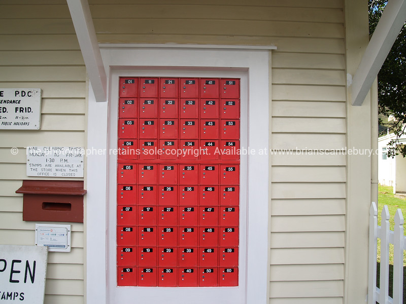 Postboxes. New Zealand images.