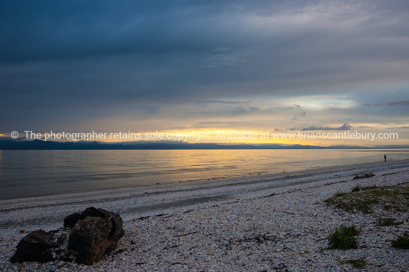 Miranda sunrise, Coromandel, New Zealand.