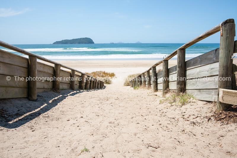 Beach track.