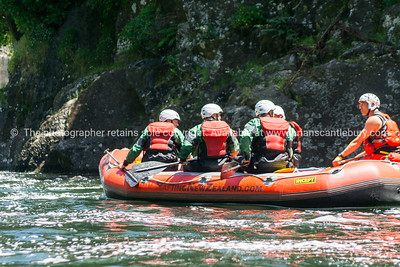 Wairoa River Rafting - the guys.
