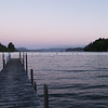 Lake Rotoiti jetty.  New Zealand Images.