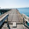Hicks Bay Wharf. New Zealand images.