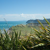 East Cape view to the Pacific. New Zealand images.