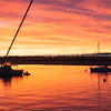 Whakatane Harbour Sunset.
