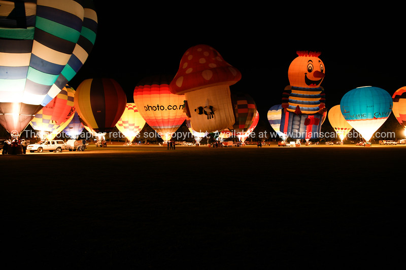 Night balloons.