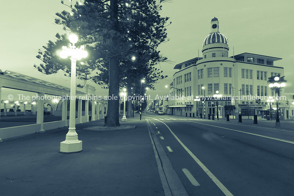 Napier, Marine Parade, the Dome, NZ.