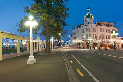 Napier, Marine Parade, the Dome, NZ.