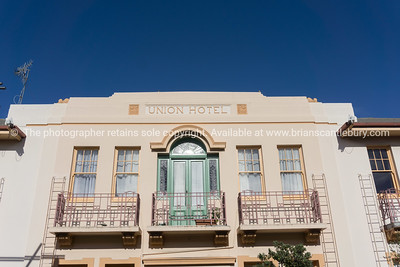 Union Hotel, art deco.