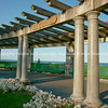 Colonnade, architectural feature.