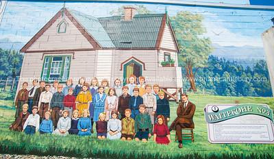 Katikati, mural town, Bay of Plenty, NZ.