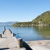 Jetty on Lake Tarawera.