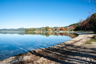 Scenic Lake Tarawera.