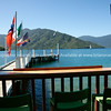 Punga Cove Resort pier. New Zealand photographic stock images. South Island.
